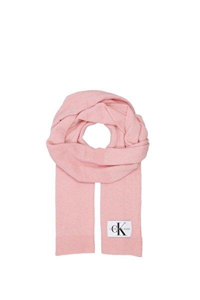 Calvin Klein Parachute Purple Kadın J Basic Women Knitted Şal K60k604789