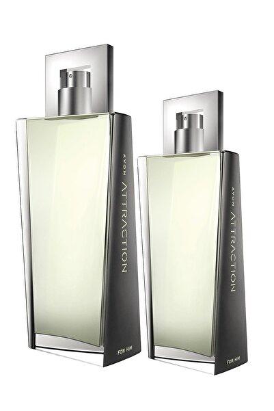 AVON Attraction Edt 100 ml Erkek Parfüm + Attraction Edt 75 ml Erkek Parfüm Seti 8681298708766