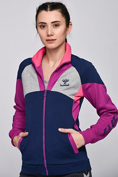 HUMMEL Kadın Sweatshirt Lenora Zıp Jacket