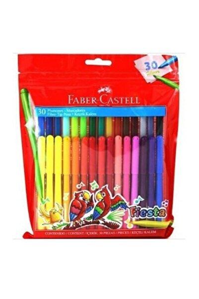 Faber Castell 30'lu Fiesta Keçeli Kalem