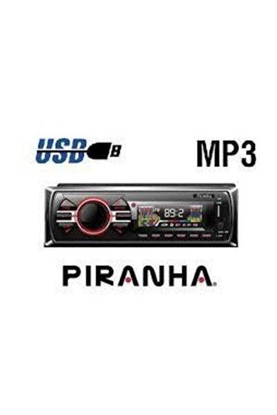 Piranha PİRANHA 7736 OTO TEYP (Bluetooth, Aux, Usb, Sd Kart, Renkli Led Ekran)