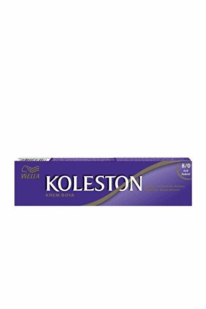 Koleston Krem Tüp Saç Boyası - 8.0 Açık Kumral