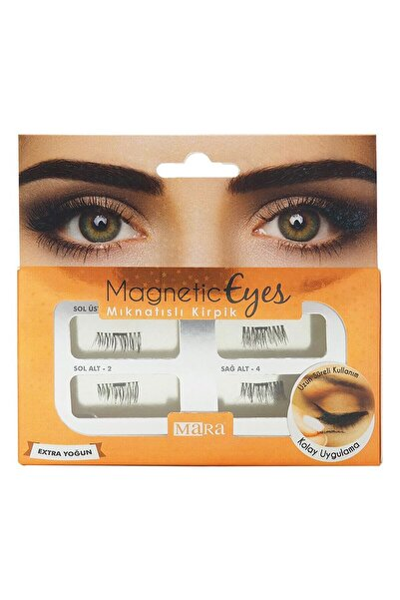 Mara Magnetic Eyes Mıknatıslı Kirpik Extra Yoğun