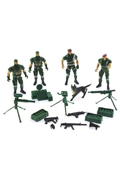 MEGA Oyuncak  Asker Figürleri Seti