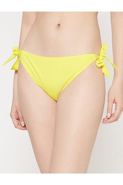 Koton Kadın Sarı Bikini Altı 7YAK88078BM