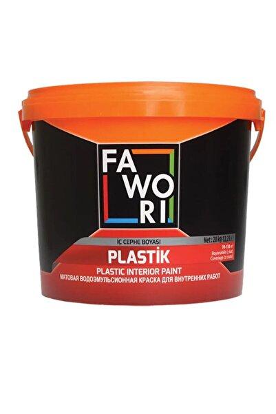Fawori Plastik Iç Cephe Duvar Boyası 3,5 Kg-kül Gri