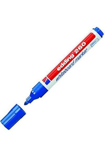 Edding Mavi 260 Yazı Tahtası Kalemi Tekli