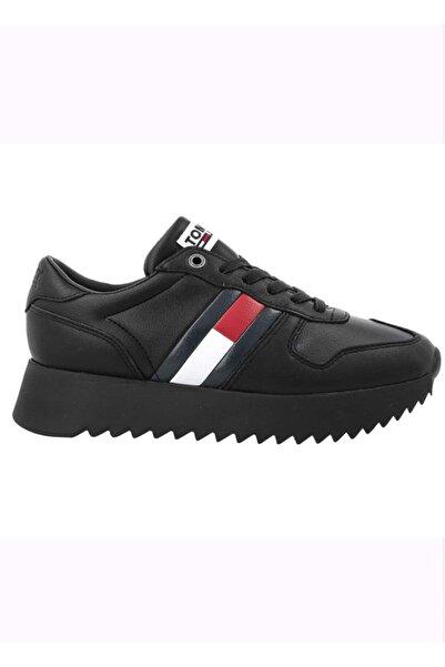 Tommy Hilfiger Kadın Siyah Günlük Ayakkabı En0en0028 D004579