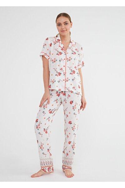 SUWEN India Maskulen Pijama Takımı