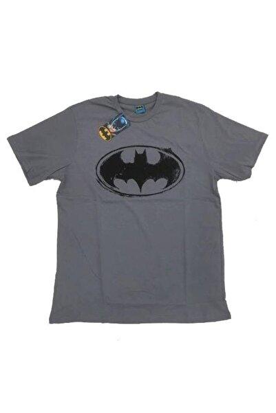 Batman Unisex Koyu Gri Orijinal Lisanslı T-shirt