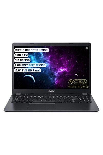 "ACER Extensa 15 Intel Core I5 1035g1 8gb 512gb Ssd Mx330 Freedos 15.6"" Fhd Nx.egcey.002"