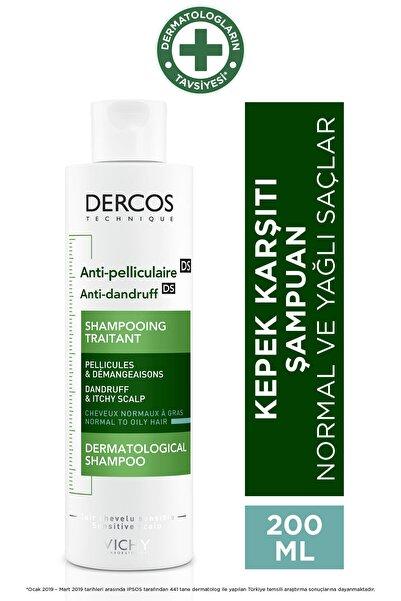 Vichy Dercos Anti-Pel Kepeğe Karşi Etkili Bakim Şampuanı Normal/Yağlı Saçlar 200 ml