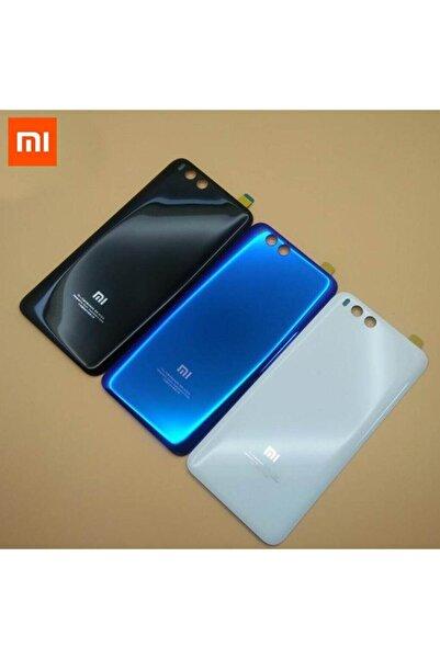 Medyar Xiaomi Mi 6 Arka Pil Batarya Kapak Cam Siyah