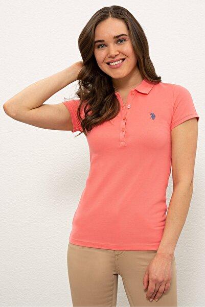 U.S. Polo Assn. Turuncu Kadın T-Shirt