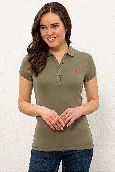 U.S. Polo Assn. Yesıl Kadın T-Shirt