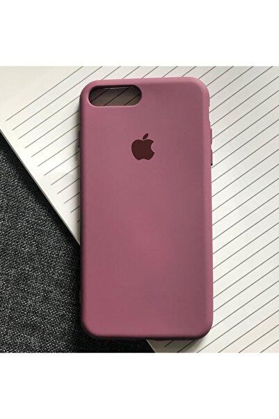 SUPPO Iphone 7plus - 8plus Uyumlu Logolu Lansman Içi Kadife Silikon Kılıf