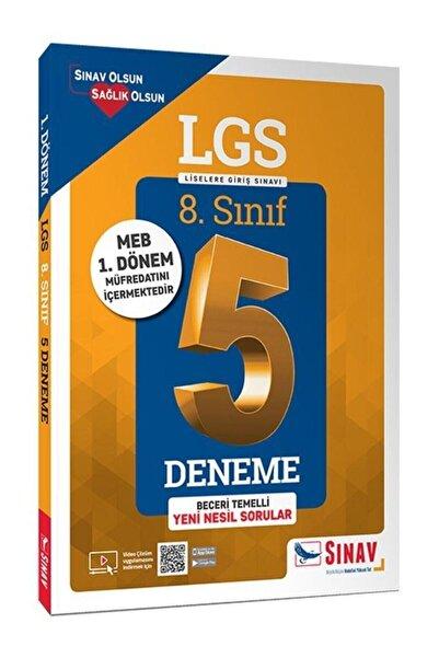 Sınav Yayınları 8.sınıf 1. Dönem Lgs Çözümlü 5 Deneme