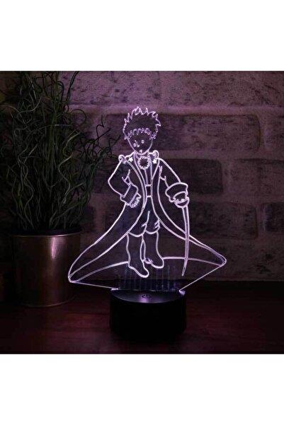 BY-LAMP 3 Boyutlu Prens Led Lamba