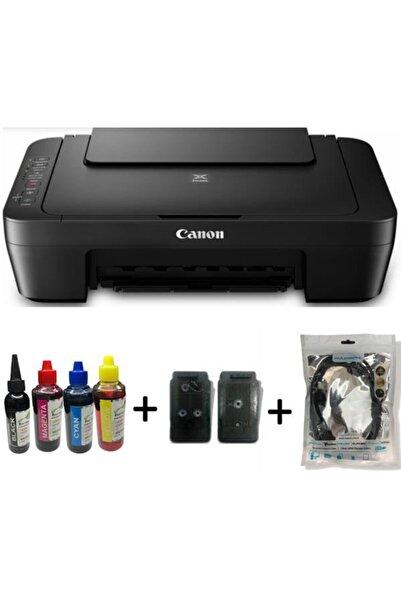 Canon Dolan Kartuşlu E414 Yazıcı  Tarayıcı Fotokopi