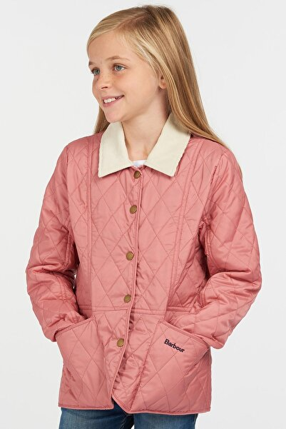 Barbour Kız Çocuk Printed Summer Liddesdale Kapitone Ceket