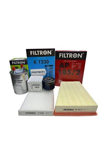 Filtron Renault Fluence 1.5 Dci Motor Periyodik Bakım Seti