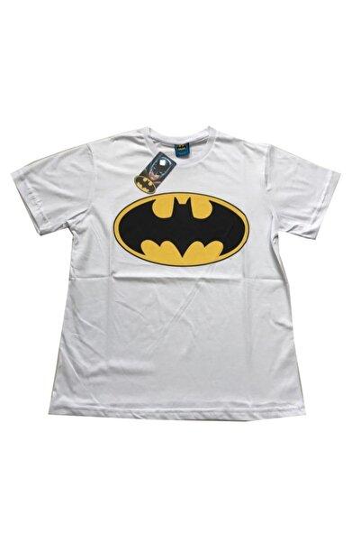 Batman Unisex Beyaz Orijinal Lisanslı T-shirt