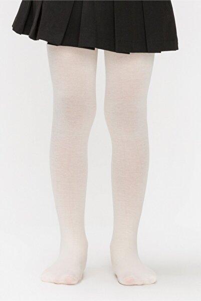 Penti Kız Çocuk Vanilya Mikro 40 Mus Külotlu Çorap