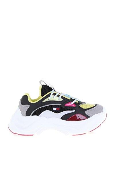 Tommy Hilfiger Kadın Siyah Sneaker Wmns Fashıon Chunky Runner EN0EN00791