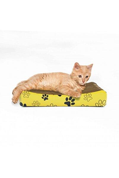 Artikel Ondüle Karton, Kedi Tırmalama Tahtası 39x7,5x20cm, Kedi Tırmalama Rampası