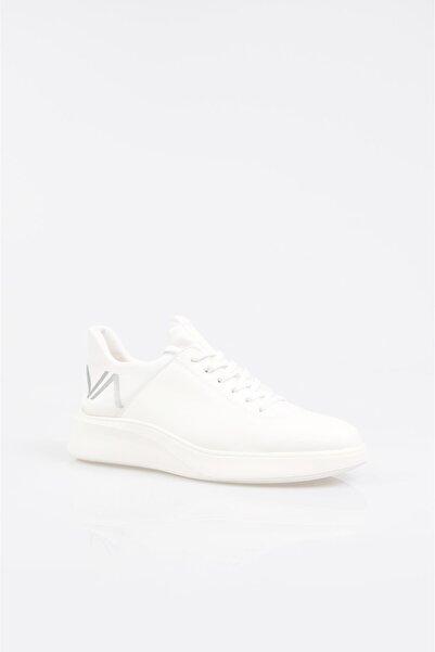 Avva Erkek Beyaz Garnili Spor Ayakkabı A11y8006