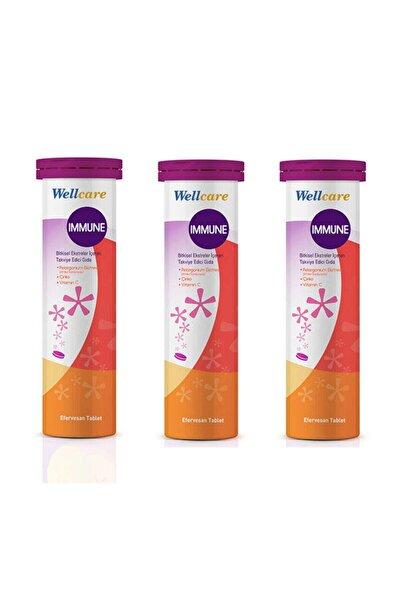 Wellcare Immune 15 Efervesan Tablet 3 Adet