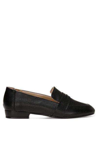 Nine West RONE 1FX Siyah Kadın Loafer Ayakkabı 101011714