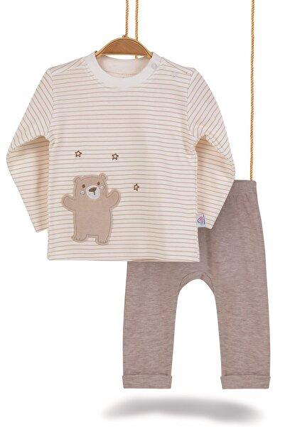 Bimini Joyful Teddy Erkek Bebek Pamuk 2 li Alt Üst Takım