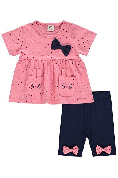 Civil Baby Kız Bebek Taytlı Takım 6-18 Ay Narçiçeği
