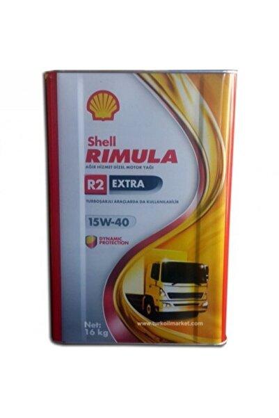 SHELL Rimula R2 15w40 18lt Motor Yağ Extra 2020
