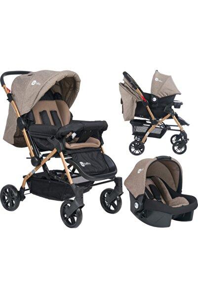 4 Baby Olimpos Bebek Arabası Kahve Travel Puset