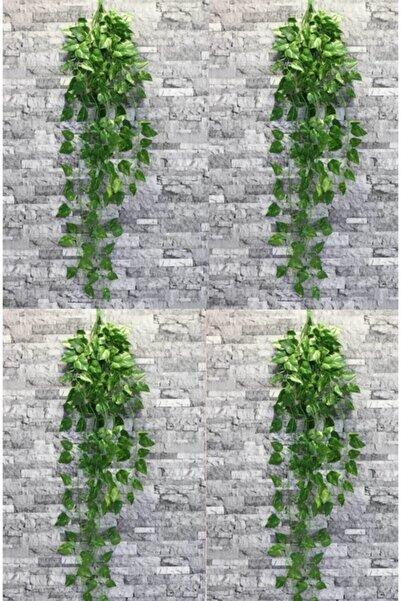 KozmoParti Yeşil 9 Dal Oval Sarkan Yapay Sarmaşık 90 Cm, Dekoratif Yapay Çiçek 9 Dallı 4 Adet