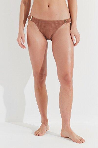 Penti Kadın Açık Kahverengi Jade Side Bikini Altı
