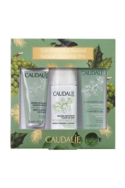 Caudalie Cleansing Trio Set - Yoğun Peeling & Temizleme Köpüğü & Detoks Etkili Maske 3522930026846