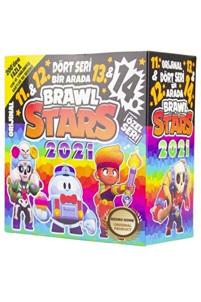 BRAWL STARS Yeni Karakter 11. 12. 13. 14. Seri Özel Set 150 Poşet 450 Adet Kart 2021