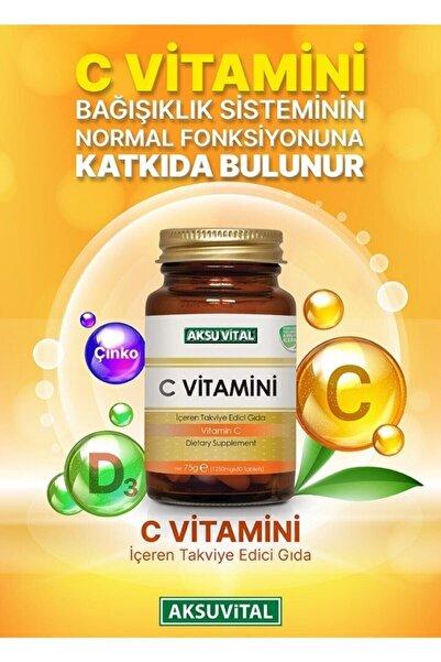 Aksu Vital C Vitamini 1250 Mg 60 Tablet