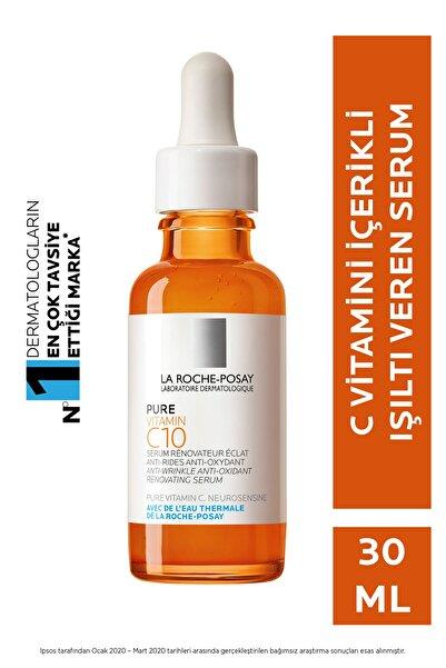 La Roche Posay Vitamin C10 Cilt Serumu Saf C Vitamini İle Işıltı Veren Antioksidan Serum 30ml 3337875660570