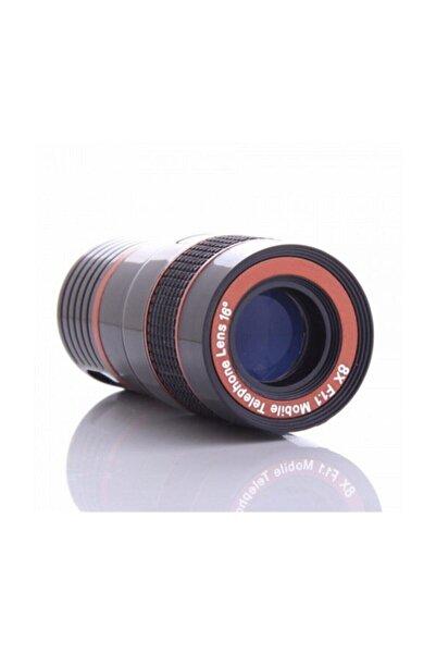 Nikula 8x Zoom Telefon Kamera Lensi - Mini El Dürbünü - Geniş Açı