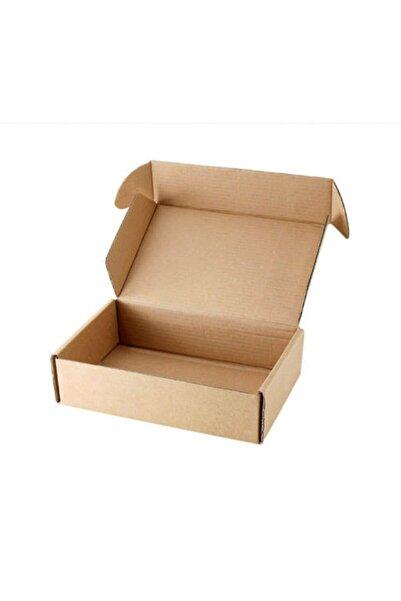 Alfa E-ticaret Kargo Kutusu Kilitli Karton Kutu 31x11x9cm 1 Desi