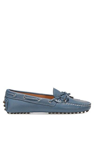 Nine West HOLT Mavi Kadın Loafer Ayakkabı 100526084