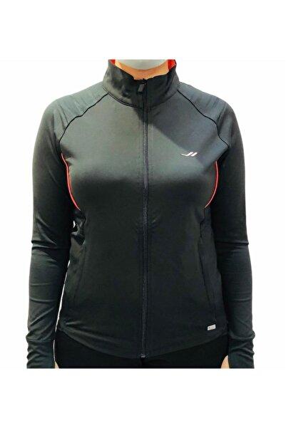 Lescon Kadın Siyah Tek Üst Eşofman Sweatshirt 15n-2001