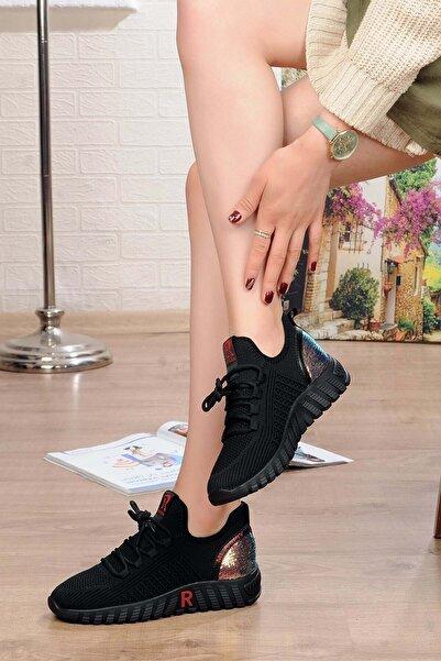 Guja Kadın Fashıon Triko Sneaker 21y329