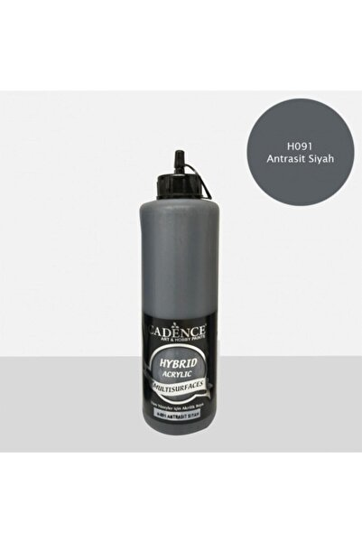Cadence Hybrid Multisurface Akrilik Boya 500 Ml. H-091 Antrasit Siyah