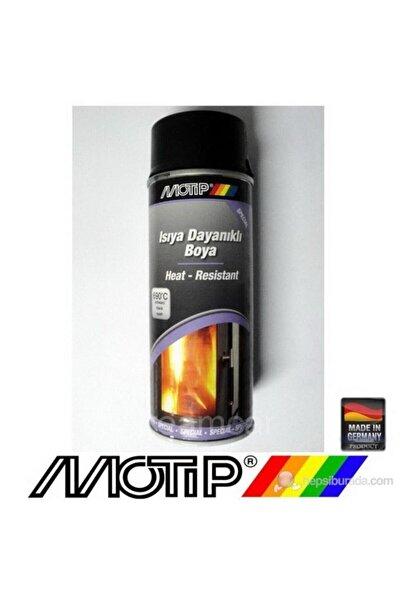 Motip 690°c Isıya Dayanıklı Mat Siyah Boya 400 ml.