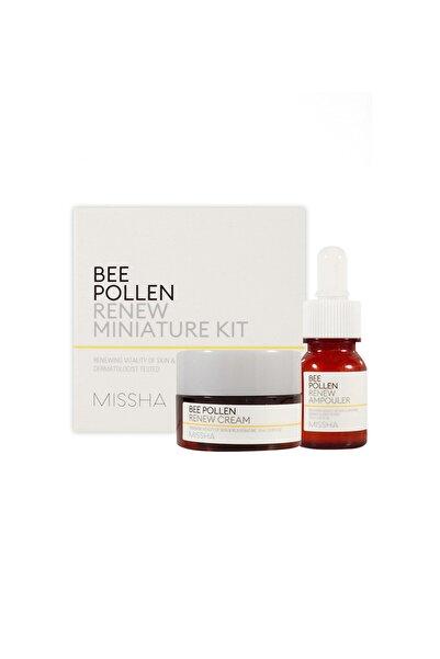 Missha Arı Poleni içeren Yoğun Besleyici Mini Kit Bee Pollen Renew Miniature Kit